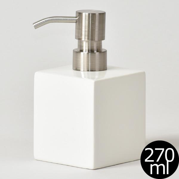 White cube soup bottle soap dispenser shampoo bottle dispenser bottle  bottle of hand SOAP refill bottle soap dispenser soap dispenser kitchen  pottery ...