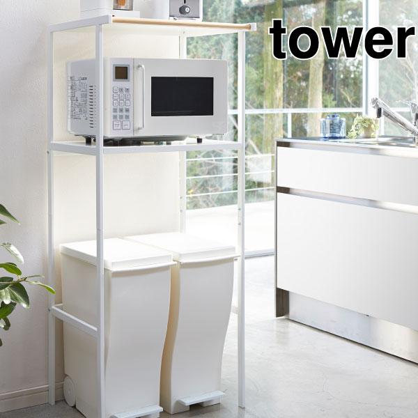 Trash Bin On The Rack Tower Tower Trash Bin Rack Mount Range Range Rack  Kitchen ...