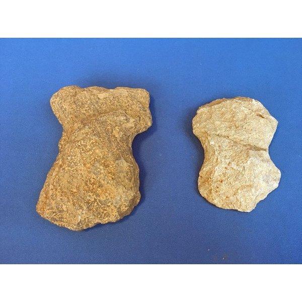 中古 縄文 打製石器 縄文時代 石器 物 実物 2個セット a5