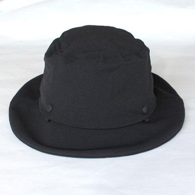 Halo commodityPeaks Hat blackハロコモディティピークスハット ブラック