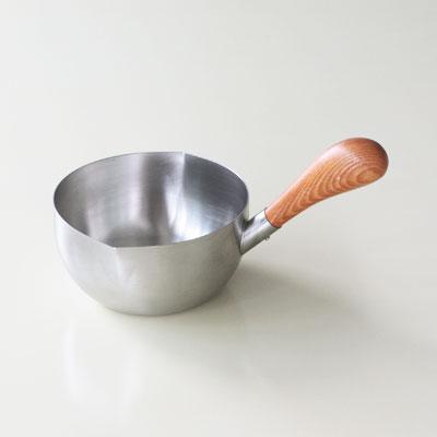低廉 工房アイザワ 両口付ミルクパン13cm 倉