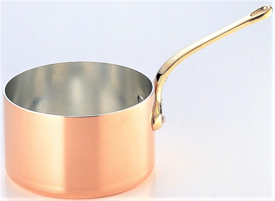 銅鍋 片手 深型 24cm【おすすめ商品】