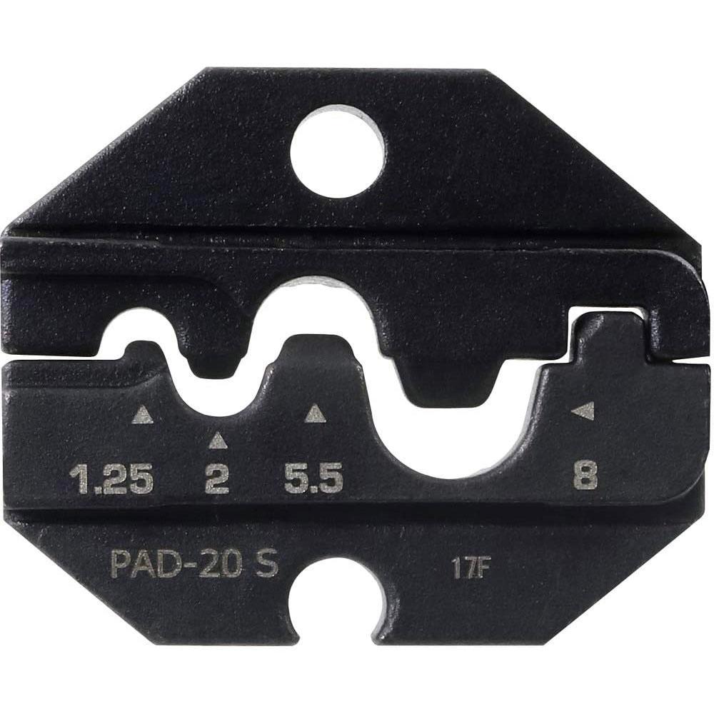 高精度なダイスで圧着の仕上がりも綺麗です アフターセール お見舞い エンジニア PAD-20~22用交換ダイス 裸圧着端子 PAD-20S PBスリーブ用 ショップ 送料無料