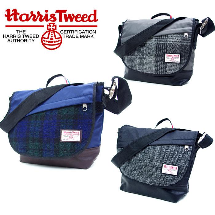 Messenger Bag Mens Harris Tweed Haistweed 17372000 Shoulder School Travel Las Uni