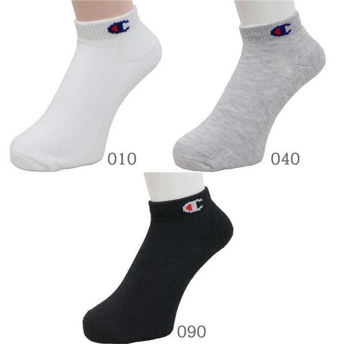 チャンピオン 靴下 メンズ ショートソックス 3足組 CMSCH302 全3パターン