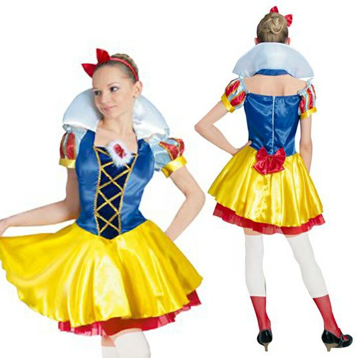 ハロウィン コスプレ ディズニー衣装 大人 仮装 レディース DX Snow White スノーホワイト 白雪姫 802065 ディズニーランド コスチューム ハロウイン イベント