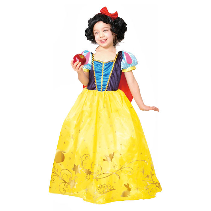207d5b684 Child Snow White Costume   Child-Disney-Princess-Cinderella-To-Snow ...