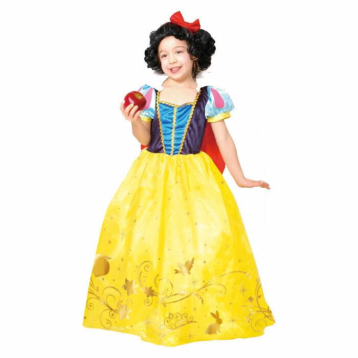 ハロウィン コスプレ 衣装 子供 ディズニー デラックス 白雪姫 snow whitw child プリンセス 仮装 コスチューム ハロウインイベント ハロウィーン