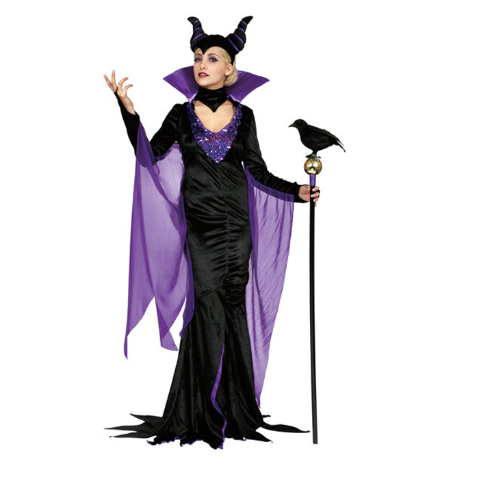 e21e29e1a The Halloween costumes for adults provisional wearing Disney female anime  cosplay VLLAINS Adult DX Maleficent Dx ...