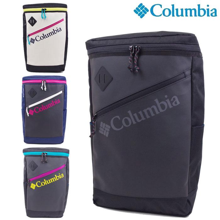 Columbia コロンビア リュック バッグ リュックサック ボックス バックパック オムニシールド メンズ/レディース 全4色 PU8354 ロゴ デイパック スポーツバッグ 登山 アウトドア 通勤 通学 送料無料