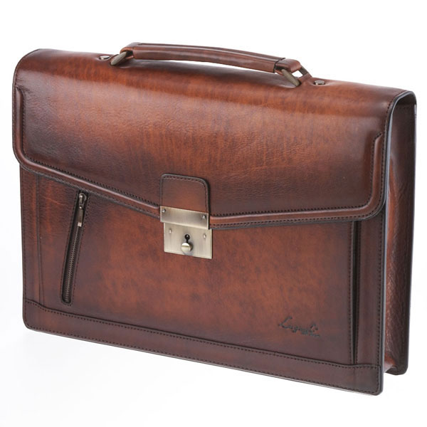 【全商品ポイント10倍】 LuggageAOKI 青木鞄 Lugard G3 ラガード ジースリー フラップ ブリーフケース A4 A4 A4 ブラウン 日本製 本革 5219-50 f83