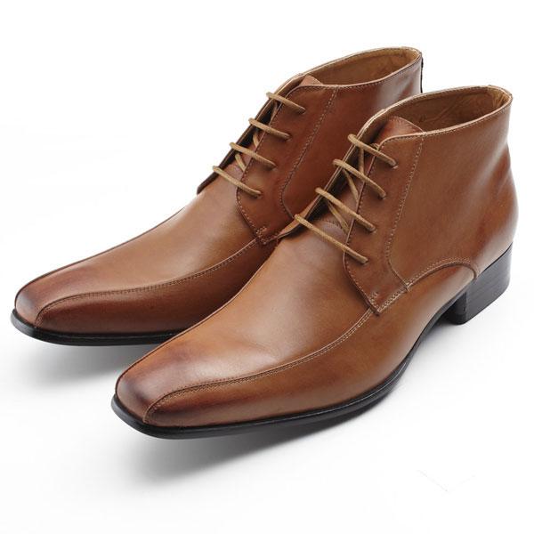 【全商品ポイント10倍】 SARABANDE サラバンド チャッカーブーツ ビジネスシューズ 紳士靴 25.0cm 40サイズ 本革 ライトブラウン 7775-LBR-40