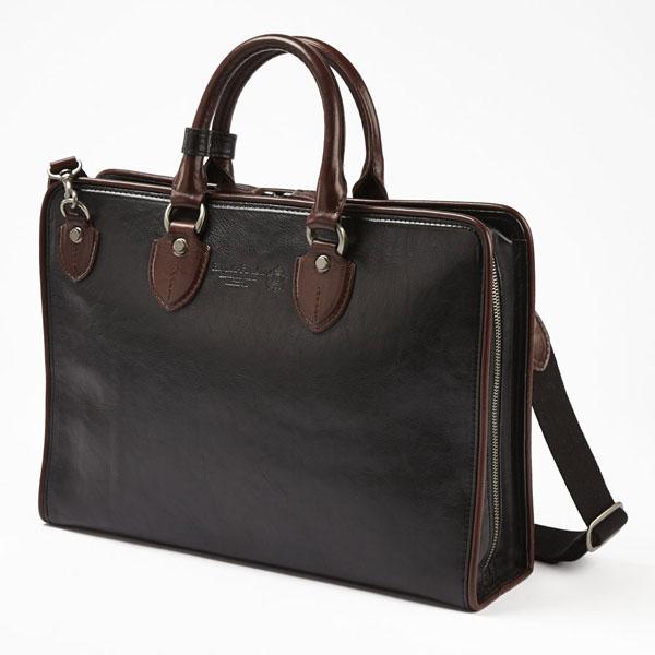 LuggageAOKI 青木鞄 COMPLEX-GARDENS コンプレックスガーデンズ 如浄 2way ビジネス ブリーフケース ショルダーバッグ A4 日本製 本革 ブラック 3096-10