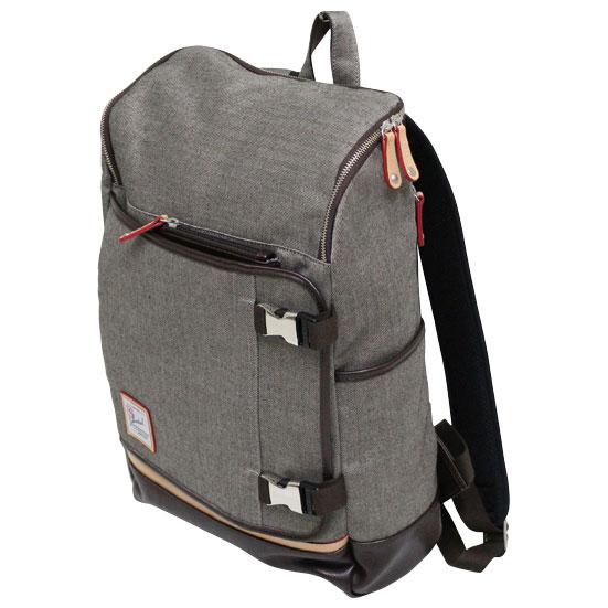 【クーポン配布中】 十川鞄 B.C.+ISHUTAL ビーシーイシュタル ルンゴ スクエア デイパック リュックサック コットン ベージュ ILG-9507 BG