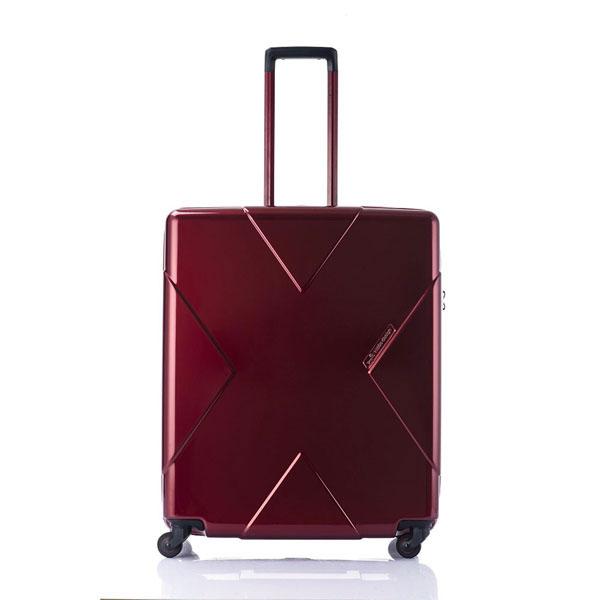 【ポイント10倍 クーポン配布中】 HIDEO WAKAMATSU ヒデオワカマツ メガマックス スーツケース ハードキャリー 70cm 105L TSAロック 無料預け ワイン 85-75953