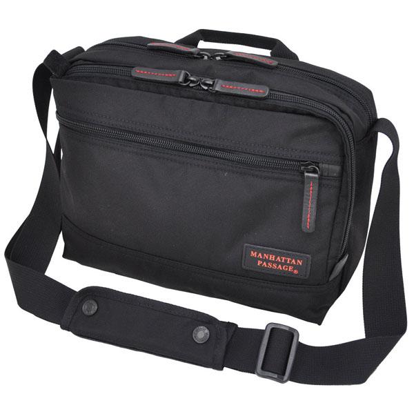 【ポイント10倍 クーポン配布中】 MANHATTAN PASSAGE マンハッタンパッセージ Organized Day Bag 12 オーガナイズド デイバッグ ショルダーバッグ B5 ブラック #8085-BK