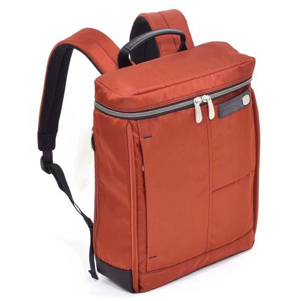 【ポイント10倍 クーポン配布中】 エンドー鞄 NEOPRO Pllar ネオプロ ピラー 2way 縦型 ビジネス スクエア リュックサック レンガ 2-163-RE