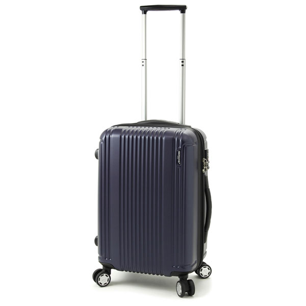 【ポイント10倍 クーポン配布中】 BERMAS PRESTIGE II バーマス プレステージ2 4輪 スーツケース ハードキャリー ファスナータイプ 34L 機内持込 TSAロック付 ネイビー 60252-NV