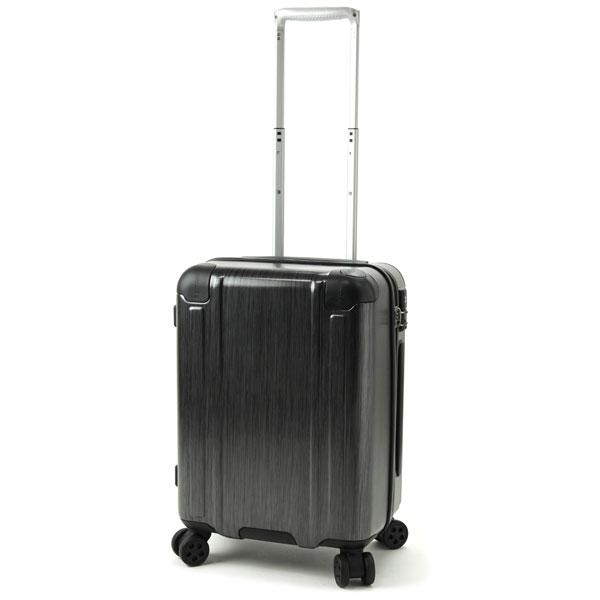 【ポイント10倍 クーポン配布中】 BERMAS SQUARE PRO バーマス スクエアプロ 4輪 スーツケース ハードキャリー ファスナータイプ 40L 機内持込 TSAロック付 ストッパー付 ブラック 60241-BK
