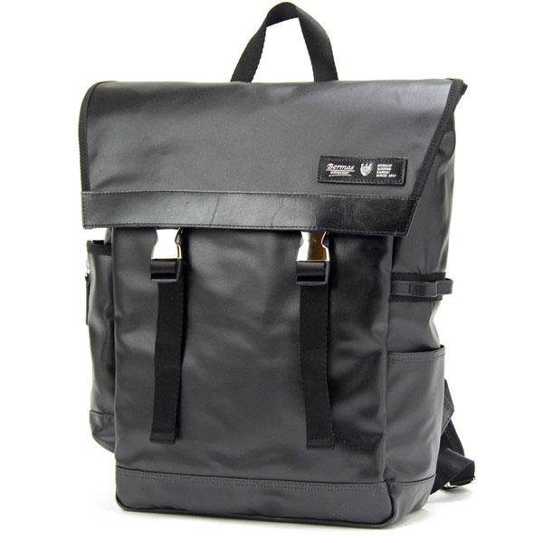 【ポイント10倍 クーポン配布中】 BERMAS REACT バーマス リアクト ビジネス デイパック リュックサック 日本製 豊岡鞄 ブラック 60343-10