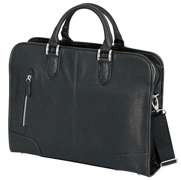【お取寄せ】 鋼:メンズビジネストートバッグ BAGGEX 黒 バジェックス 24-0274-10 ブラック