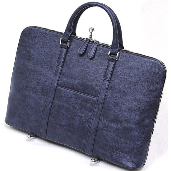 十川鞄 B.C.+ISHUTAL イシュタル ルーラル ブリーフケース ブリーフバッグ ネイビー IRU-5900-NV