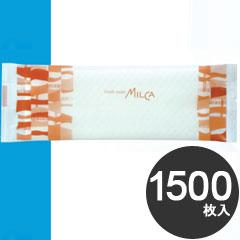 大黒工業 業務用 紙おしぼり フレッシュメイト ミルカ 平 MC-2 1500枚入