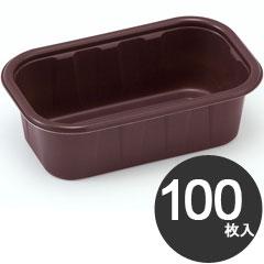伊藤景 製菓用品 焼型 新IFトレー 角型 140×80 100枚入