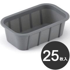 伊藤景 製菓用品 焼型 SIトレー 角型 140 25枚入