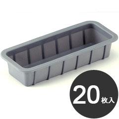 伊藤景 製菓用品 焼型 SIトレー 角型 190 20枚入