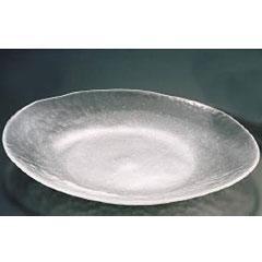 上越クリスタル硝子 ファーストグラス ガラス和食器 白雪 23 小判盛込皿 大