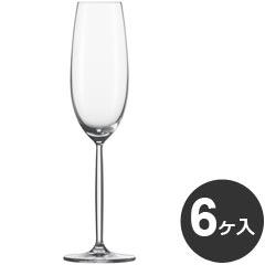 [P]ショット・ツヴィーゼル ディーヴァ シャンパングラス フルートシャンパン 219ml 104100 6個入