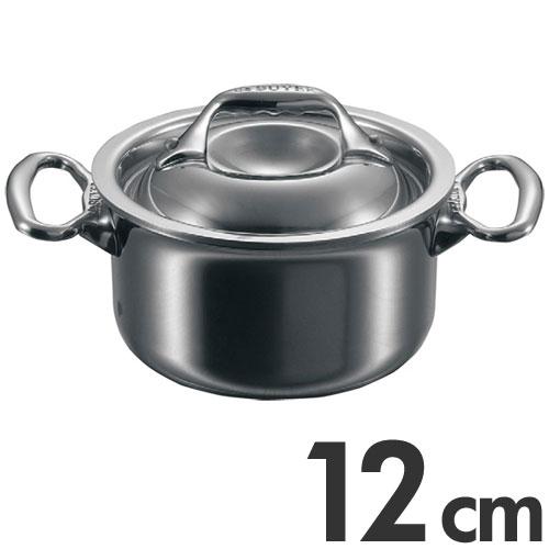 deBUYER Affinity デバイヤーアフィニティ ミニシチューパン 蓋付 3742-12cm