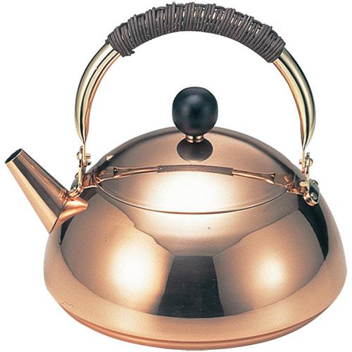 新光金属 銅コスミックケットル(銅製やかん) 2L S-820