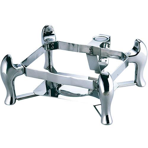 三宝産業 KINGO 業務用 ビュッフェシリーズ 角型チェーフィング用スタンド デラックスタイプ C40 1/2サイズ小D106用