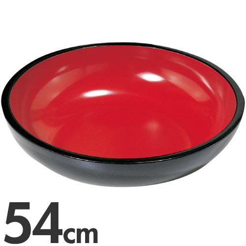 豊稔企販 普及型こね鉢 54cm A-1130 黒×朱