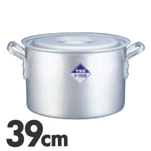TKG アルミニウム半寸胴鍋 目盛付 39cm