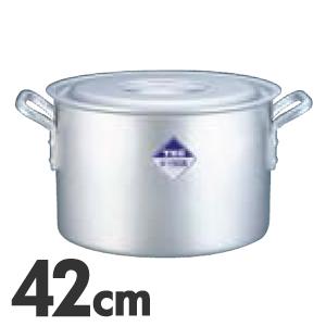 TKG アルミニウム半寸胴鍋 目盛付 42cm