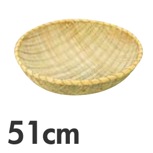 竹製 揚ざる 佐渡製 51cm