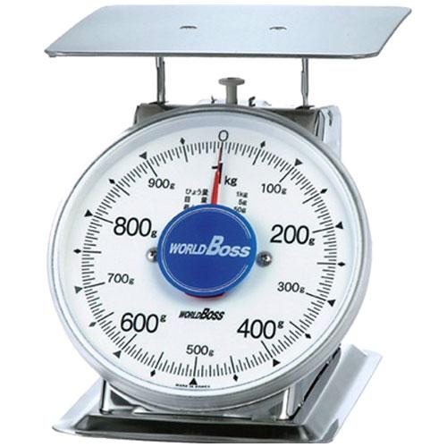 ワールドボス サビない 中型ステンレス製上皿自動秤 1kg SA-1S