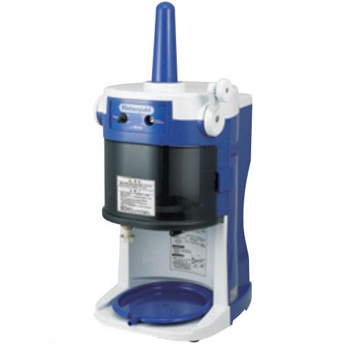 かき氷機 業務用 電動 初雪 業務電動ブロックアイススライサー HB-320A ブルー×ホワイト