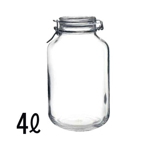 【ご注文は合計金額13000円以上より】【送料は北海道・沖縄・一部離島以外無料】 ボルミオリロッコ(Bormioli Rocco) ガラス製フィドジャー 4L
