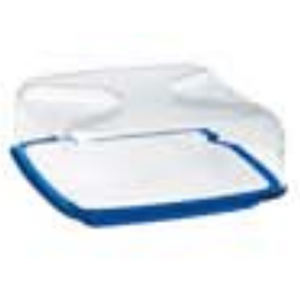 guzzini グッチーニ 正方形 カッティングボード&ドーム L 270000 68 ブルー