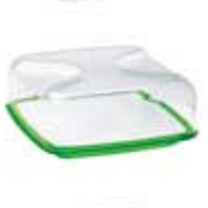 guzzini グッチーニ 正方形 カッティングボード&ドーム L 270000 44 グリーン