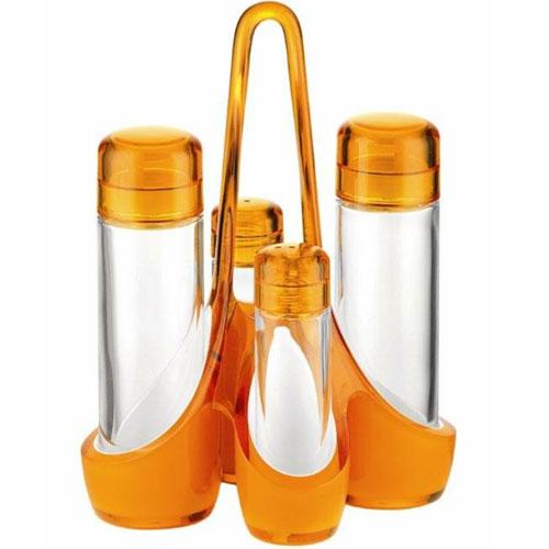 guzzini Mirage グッチーニ ミラージュ クルエセット 調味料入れ 248800 45 オレンジ