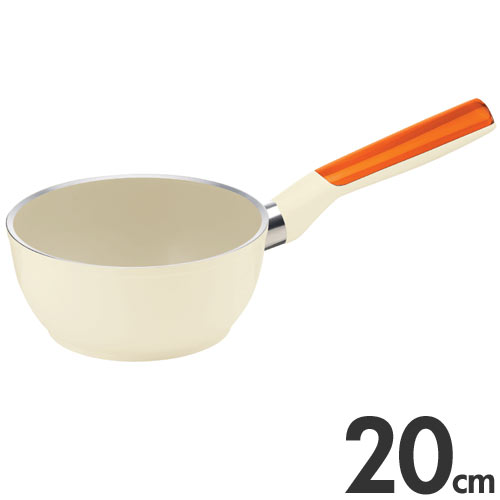 guzzini LATINA グッチーニ ラッチーナ 片手ソースパン 20cm 227901 45 オレンジ