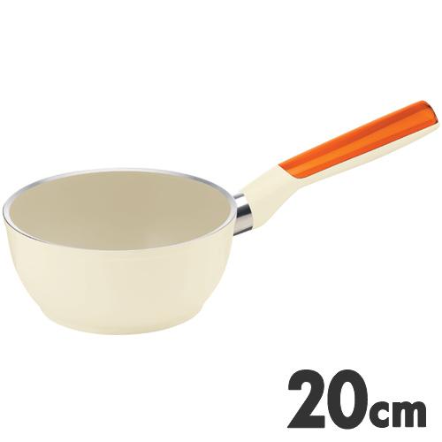 guzzini LATINA グッチーニ ラッチーナ IH片手ソースパン 20cm 227911 45 オレンジ