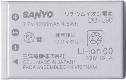 SANYO Xacti DMX-SH11用バッテリー 卓出 有名な DB-L90
