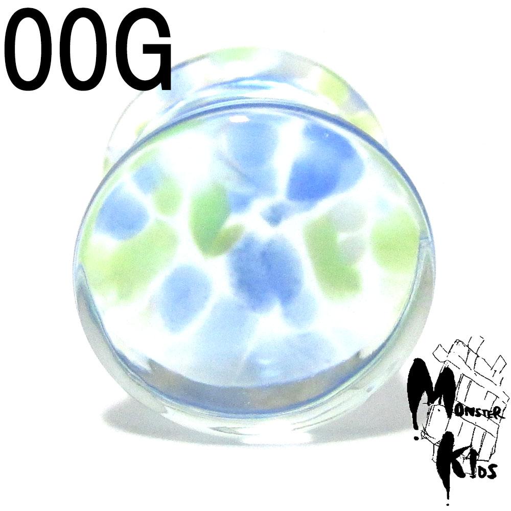 メール便 ゆうパケット 配送OK ボディピアス Pyrex ライトブルー系デザイン パイレックス 耐熱ガラス ダブルフレアプラグ 00G 数量限定アウトレット最安価格 10.0mm ガラスピアス プラグ系ピアス BPPL-23-00G 耐熱 全店販売中 ボディーピアス 薄緑 10P05Nov16 両サイド広がり きれいなカラー 水色