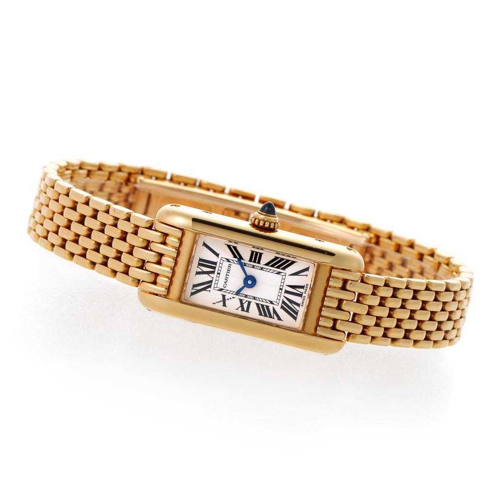 Cartier タンクアロンジェ